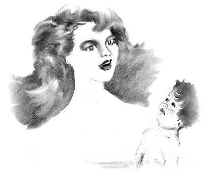 Drawing - My Joy by Belinda Threeths