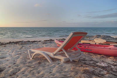 Beach Chair Photograph - My Kind Of Day by Betsy Knapp