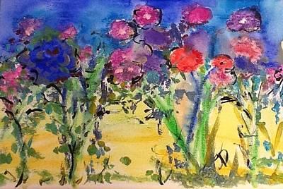 Painting - My Kinda Guys Garden by Judith Desrosiers