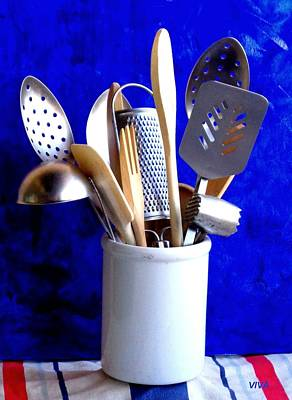 Photograph - My Kitchen Aids by VIVA Anderson