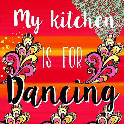 Painting - My Kitchen Is For Dancing by Carla Bank