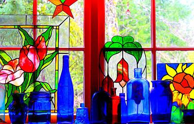 My Kitchen Window Art Print