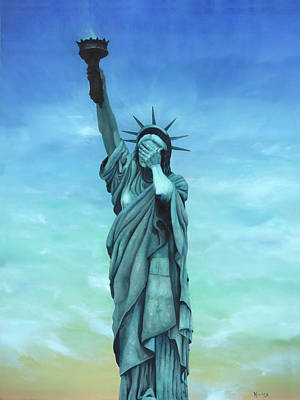 Liberty Painting - My Lady by Kd Neeley