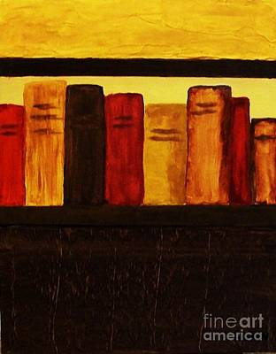 Library Digital Art - My Library Ll          by Marsha Heiken