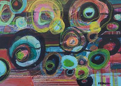 Painting - My Life Took A Sharp Right Turn by Laurie Maves ART