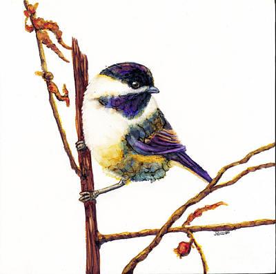 My Little Chickadee Art Print
