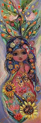 My Little Fairy Penelope Art Print by Elena Kotliarker