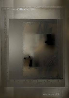 Digital Art - My Little Hazy Window by Ines Garay-Colomba