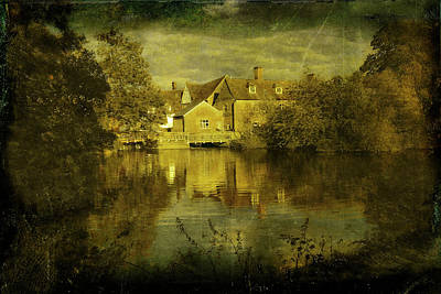 Photograph - A Vintage Styled Image Of Flatford Mill by Andrew David