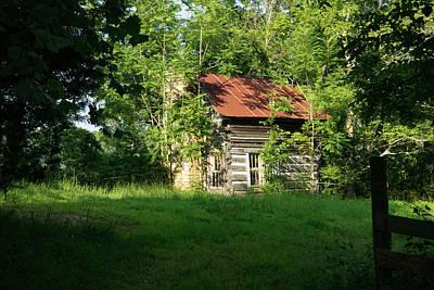 Photograph - My Little Log Cabin by Douglas Barnett
