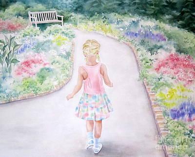 My Little One Art Print by Deborah Ronglien