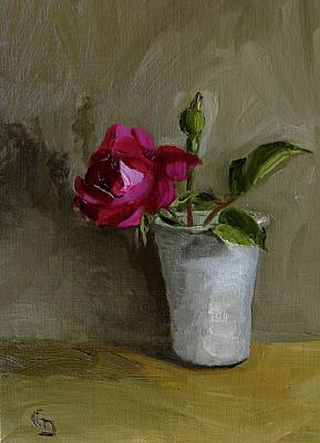 Painting - My Little Rose by Grace Diehl