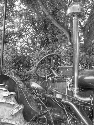 Photograph - My Little Tractor by Isabella F Abbie Shores