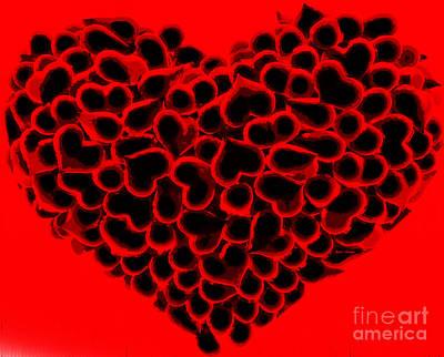 Digital Art - My Love Is Yours by Rafael Salazar