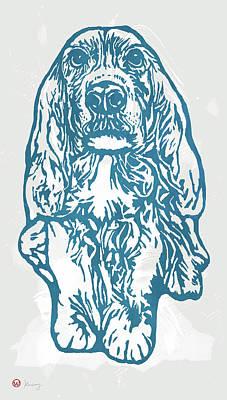My Lovely Baby - Dog Pop Art Poster Art Print