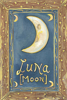 Painting - My Luna by Sheri Jo Posselt