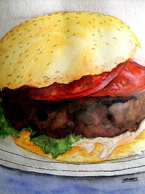 Painting - My Lunch by Carol Grimes