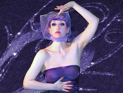 Self Portrait Photograph - My Magic Mind - Self Portrait by Jaeda DeWalt