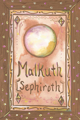 Painting - My Malkuth by Sheri Jo Posselt
