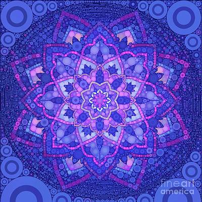 Royalty-Free and Rights-Managed Images - My Mandala, Pop Art by MB by Esoterica Art Agency