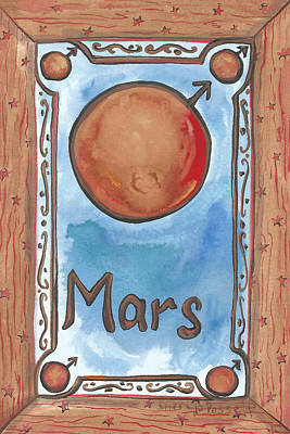 Painting - My Mars by Sheri Jo Posselt