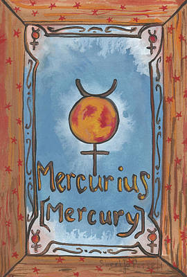 Painting - My Mercury by Sheri Jo Posselt