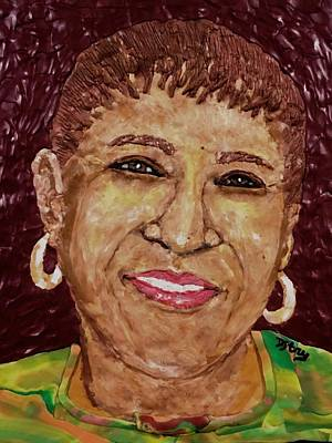 Mixed Media - My Mom by Deborah Stanley