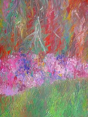 Painting - My Monet Moment by Beth Akerman