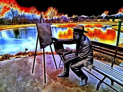 Digital Art - My Monet by Wesley Nesbitt