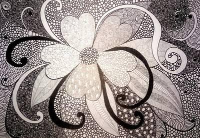 Inner World Drawing - My Mood by Nigina Kanunova