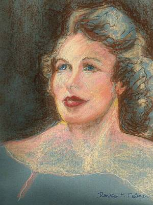 Pastel - My Mother by Denise Fulmer
