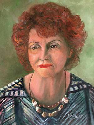 Painting - My Mother by Randy Burns