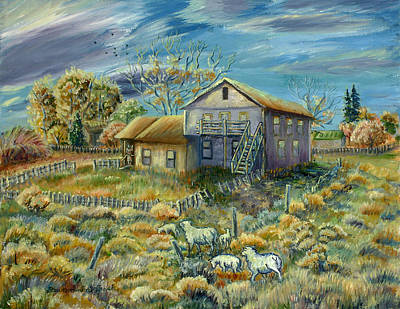 Painting - My Mother's House Version Two by Dawn Senior-Trask
