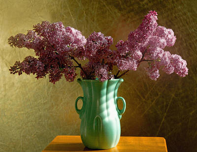 Wall Art - Photograph - My Mother's Lilacs by Wendy Blomseth