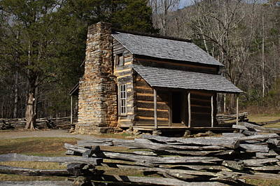 Photograph - My Mountain Home by B Wayne Mullins