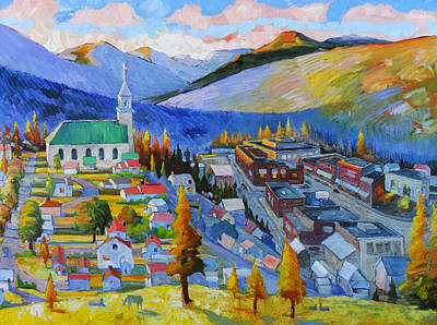 My Mountain Home Print by Gregg Caudell
