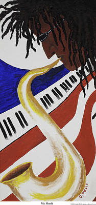 Painting - My Musik by Cedric Wells