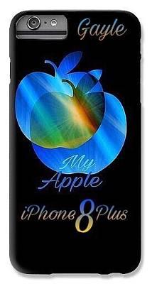 Digital Art - My Name Iphone 8 Case by Gayle Price Thomas