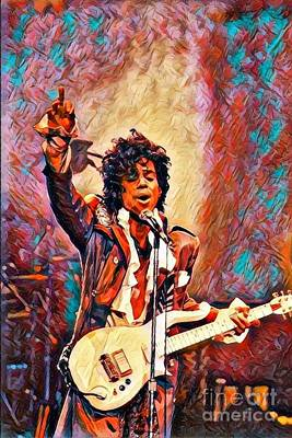 My Name Is    -  Prince Art Print