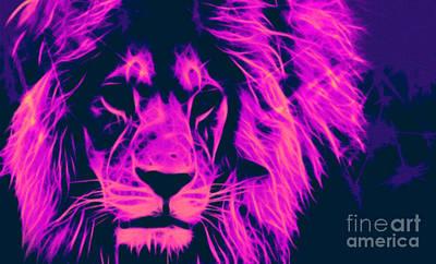 My Name Is Cecil Lion King Of Simbawe Pop Art Original