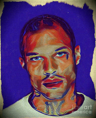 Stockton Painting - My Name Is Jeremy Meeks by Felix Von Altersheim