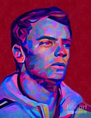 Goalkeeper Painting - My Name Is Manuel Neuer by Felix Von Altersheim
