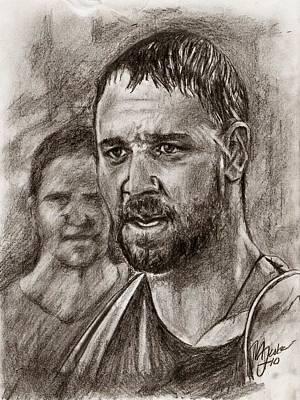 My Name Is Maximus Decimus Meridius Art Print by Maren Jeskanen