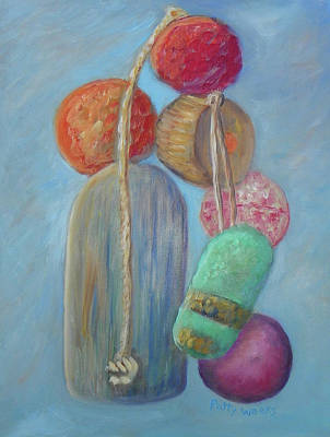 Painting - My Nautical Life by Patty Weeks