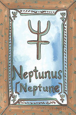 Painting - My Neptunus by Sheri Jo Posselt