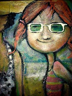 My New Shades Art Print by Eleatta Diver
