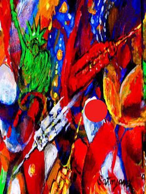 Painting - My New York by Mira Satryan