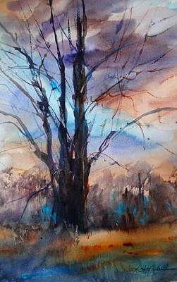 Painting - My Oak Tree by Sandra Strohschein