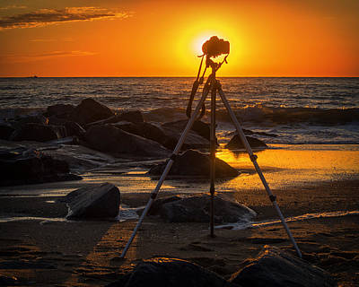 Photograph - My Office At The Beach by Bill Swartwout