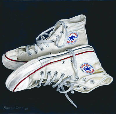 Painting - My Old All Stars by Rob De Vries